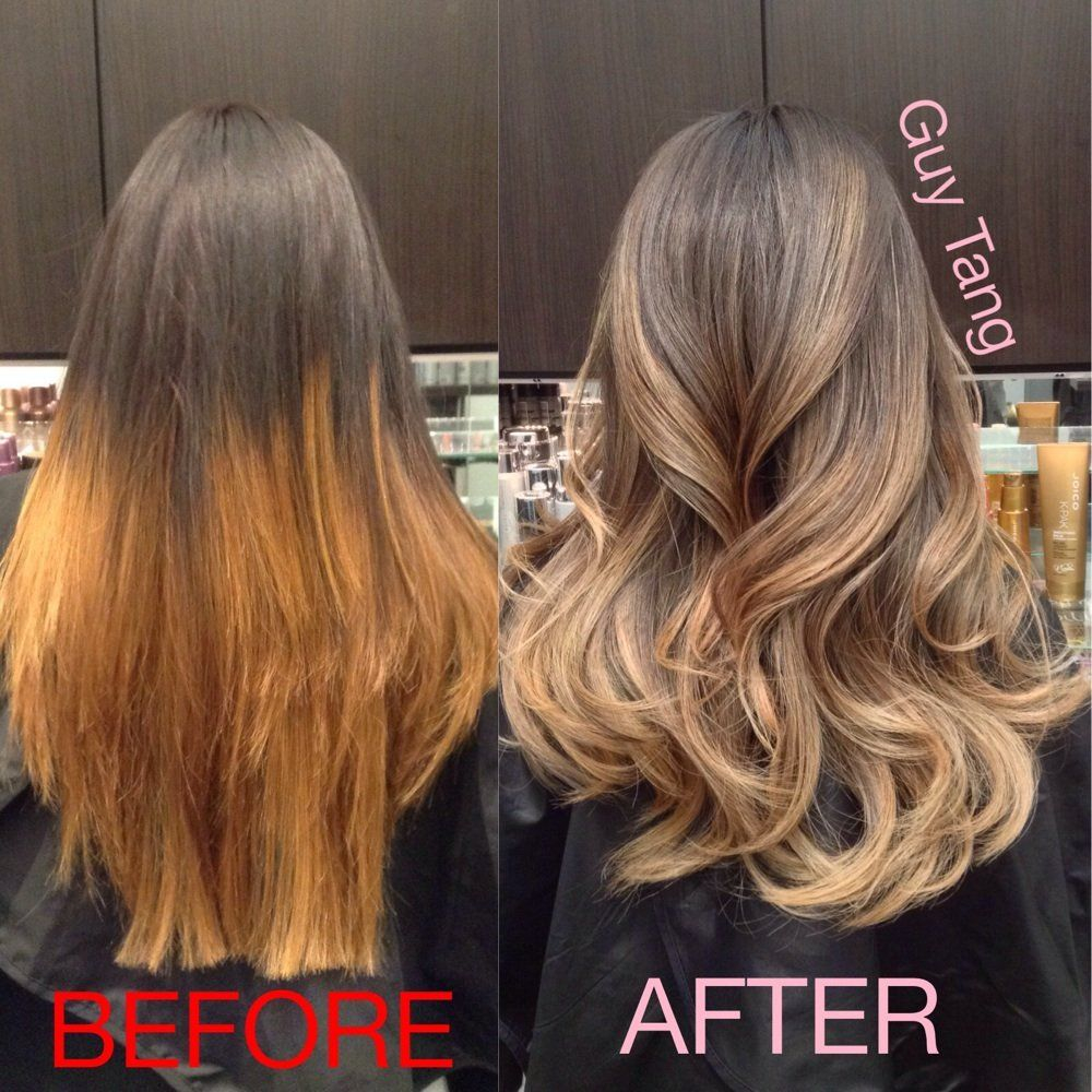 Ombre Color Correction By Guy Tang Yelp Color Correction Hair Balayage Hair Bad Hair