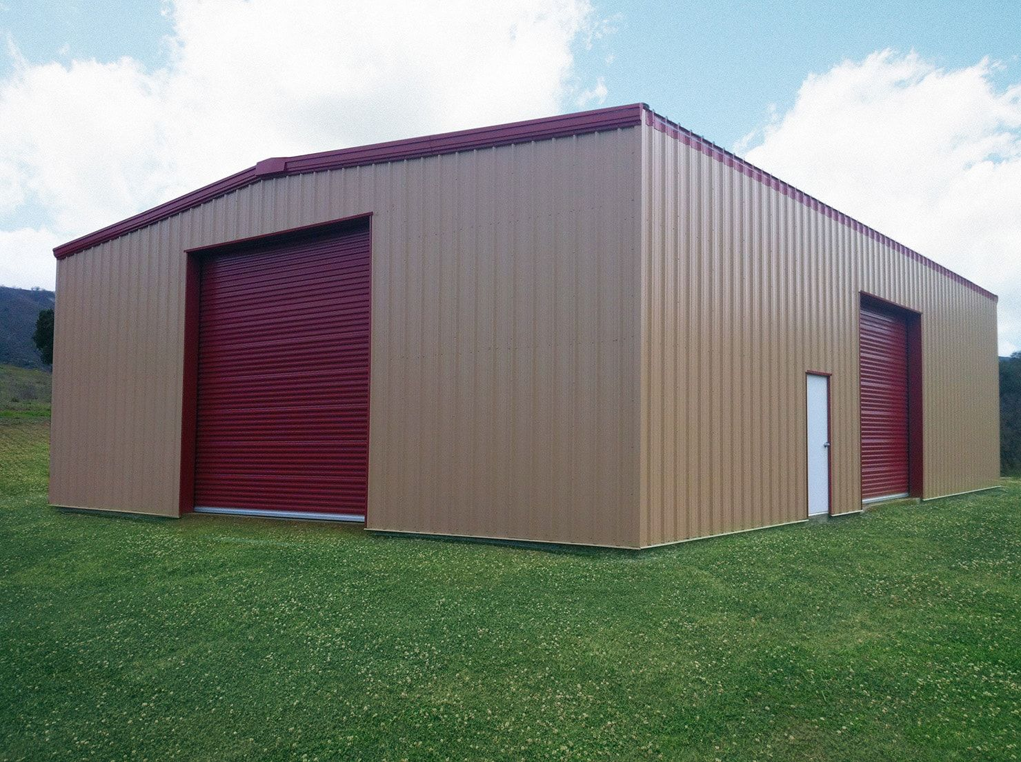 Metal Garage Kits I Beam Or C Channel Metal Buildings General Steel Steel Buildings