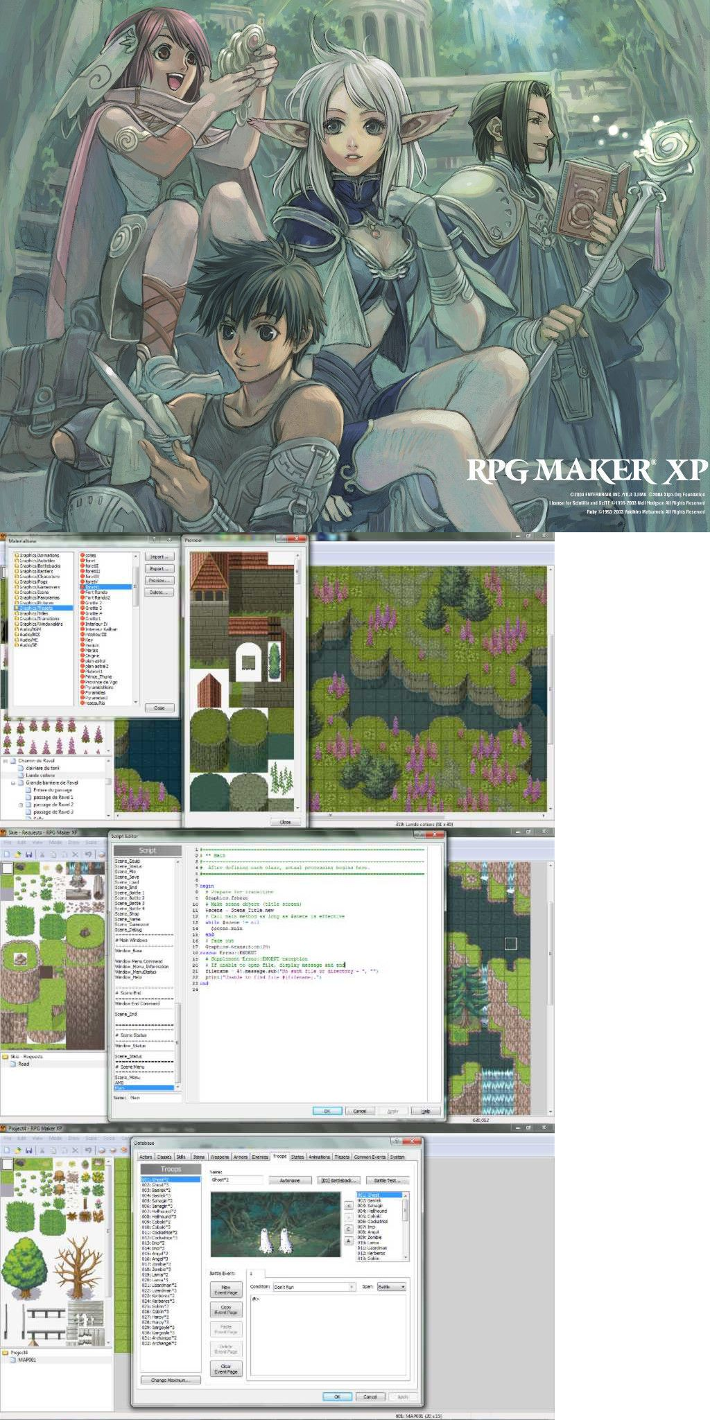 Other Role Playing Games 1183: Rpg Maker Xp *New* *Look