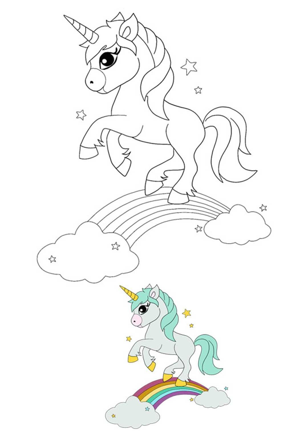 Unicorn Rainbow Coloring Pages Unicorn Coloring Pages My Little Pony Coloring Dog Coloring Page [ 1528 x 1080 Pixel ]