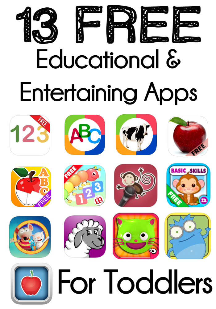 13 Of The Best Free Educational And Entertaining Apps For Toddlers That You Must Download These Apps Educational Apps For Toddlers Kids App Toddler Education