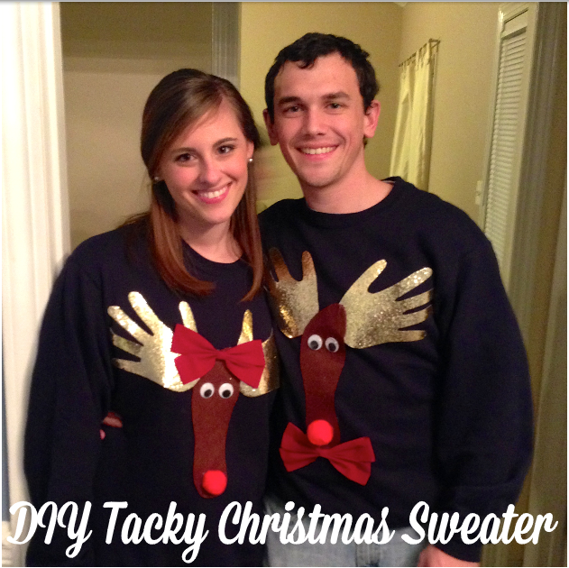 15 do it yourself ugly christmas sweaters tacky christmas 15 do it yourself ugly christmas sweaters solutioingenieria Image collections