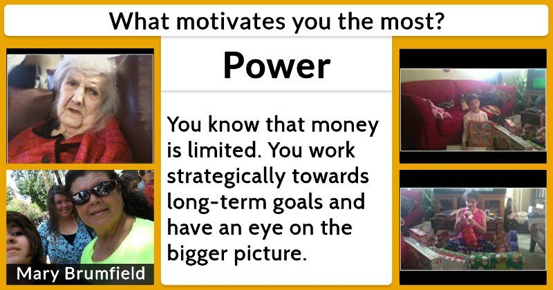 What motivates you the most? in Memory of Pinterest - what motivates you