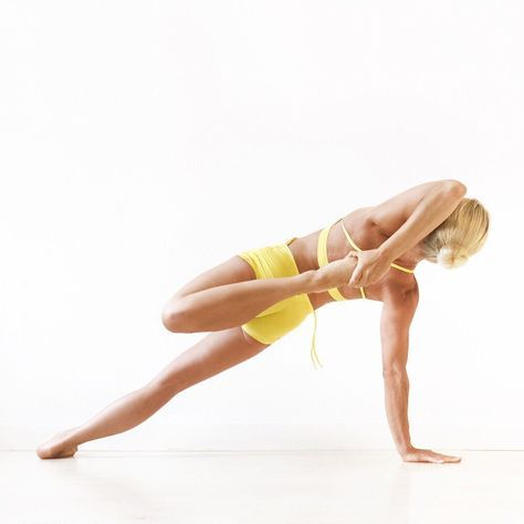 kapinjalasana or partridgepose as a vasisthasana or