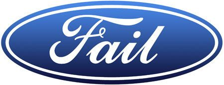 If Corporate Logos Were Honest Ford Logo Car Logos Ford Emblem