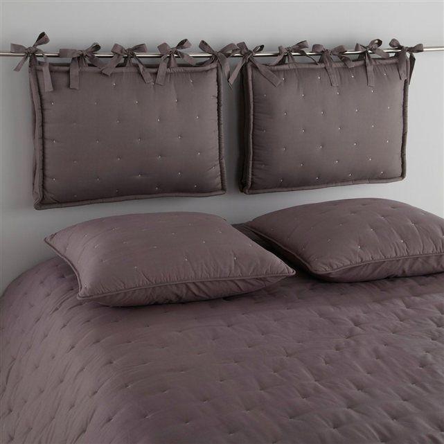 coussin tête de lit rembourré, aeri | lits rembourrés, la redoute