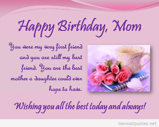 Awesome Happy Birthday Quotes For A Special Mom With Images Happy Funny Birthday Cards Online Fluifree Goldxyz