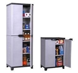 Parfait Placard De Rangement Garage 21 In 2020 Tall Cabinet Storage Storage Cabinet Tall Storage