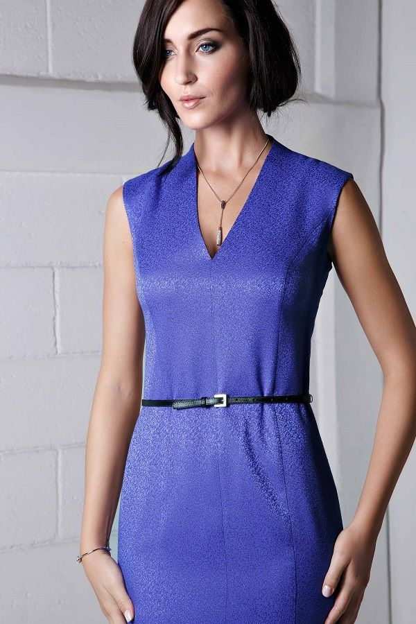 Moderno Vestido De Cóctel Metálico Ideas Ornamento Elaboración ...