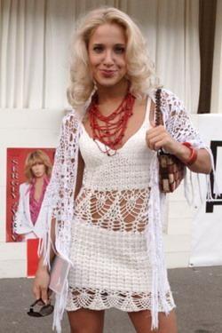Вяжем белое платье: прекрасные наряды от известных дизайнеров - Ярмарка Мастеров - ручная работа, handmade