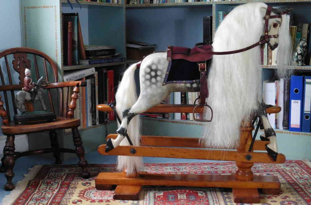 Tomboy 1880 Classic Rocking Horses Uk Antique Rocking Horse Antiques Rocking Horses For Sale