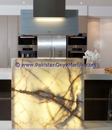 Backlit Onyx Kitchen Countertops Backlighting Onyx Kitchen Countertops Surrondings Backlit Onyx Kitchen Walls Pan House Design Photos Onyx Kitchen Light Panels