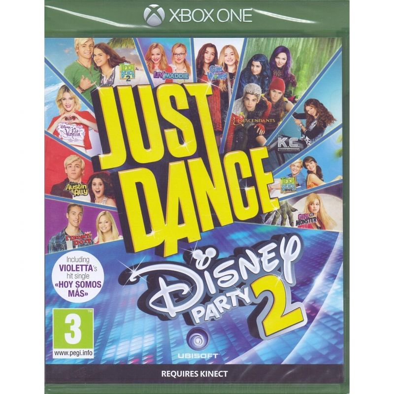 Just Dance Disney Xbox One Games Party Blu Ray Disc