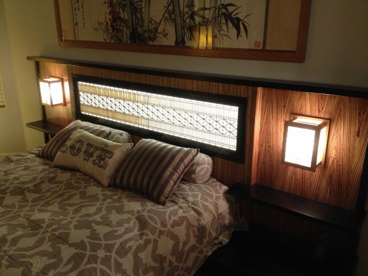 RANMA JAPANESE TRANSOM | Ranma Transom made into a head board.