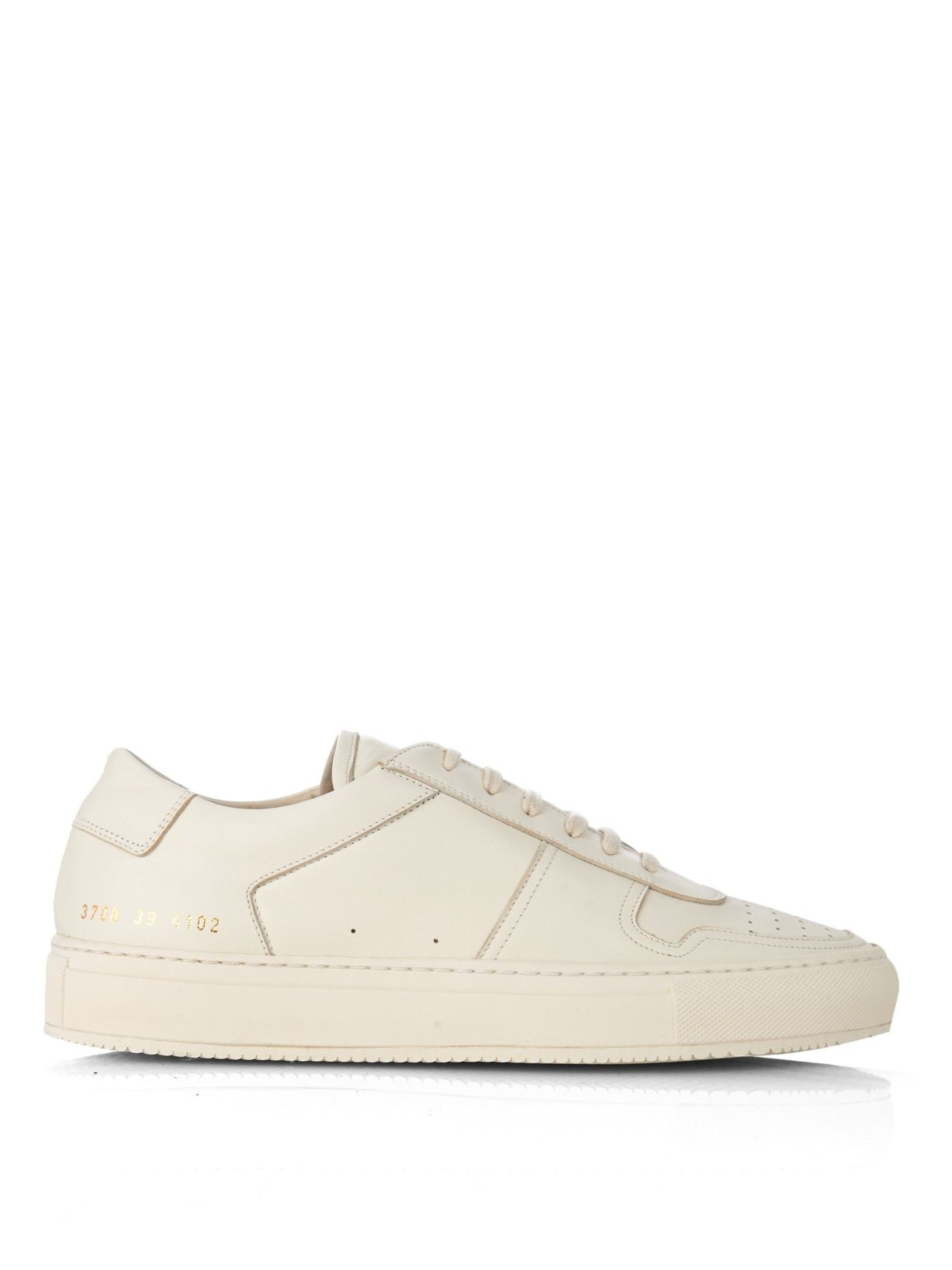 877fbfbb367f6 Bball leather low-top trainers