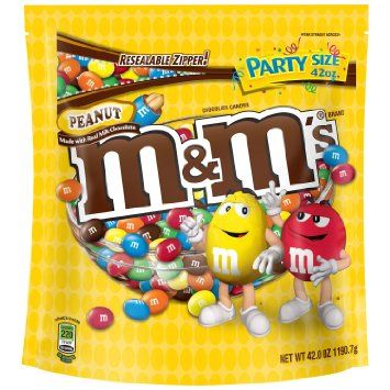 M&M'S Peanut Chocolate Candy Party Size 42-Ounce Bag, 2016 Amazon Most Gifted Candy & Chocolate  #Grocery