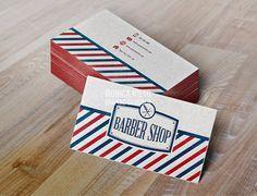 Printable vintage barber shop business cards im all business 20 creative examples of barbershop business card design smashfreakz colourmoves