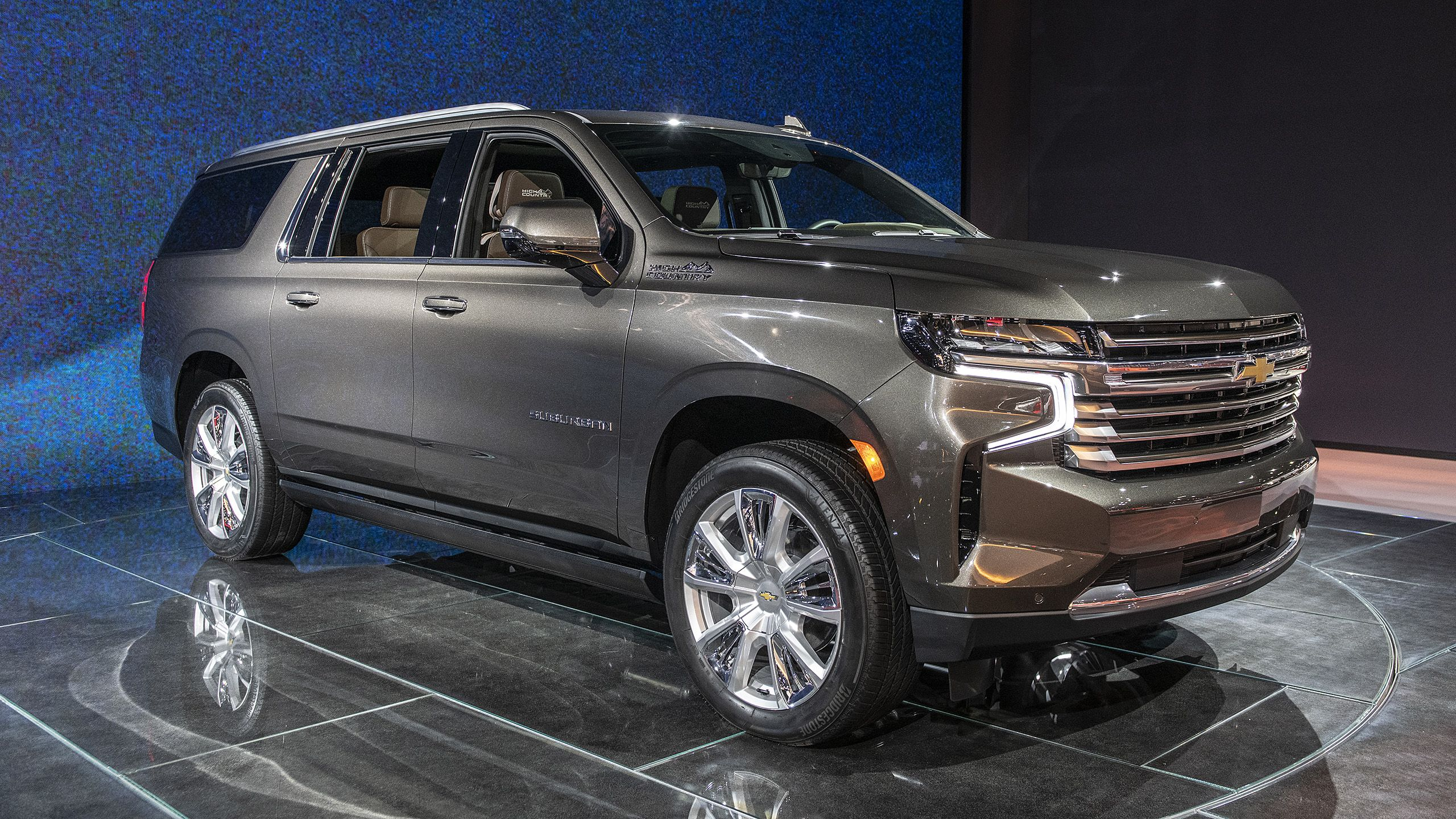 2021 Chevrolet Suburban starts at 52,995, no change from