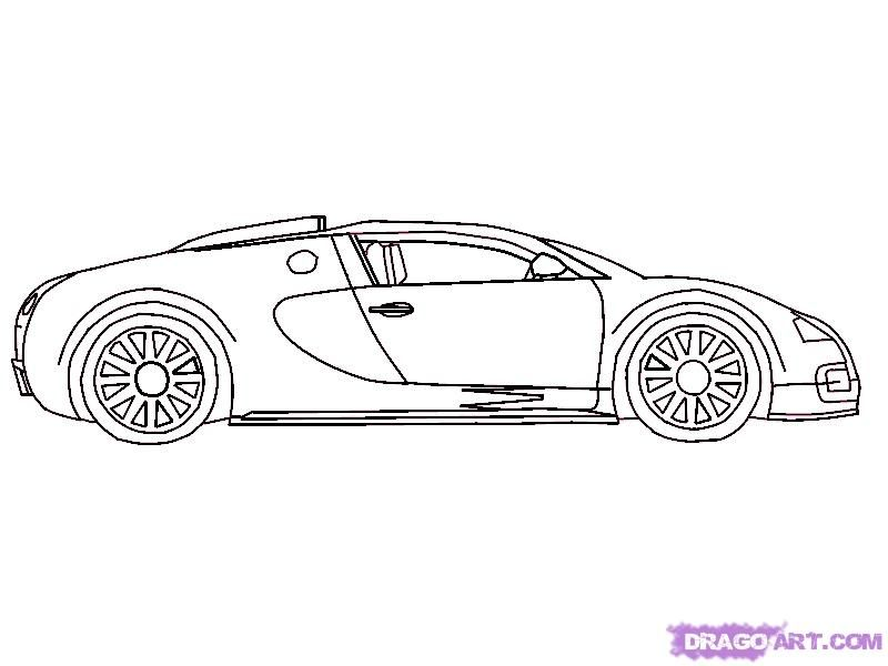 how to draw a 2010 bugatti veyron step by step cars draw cars