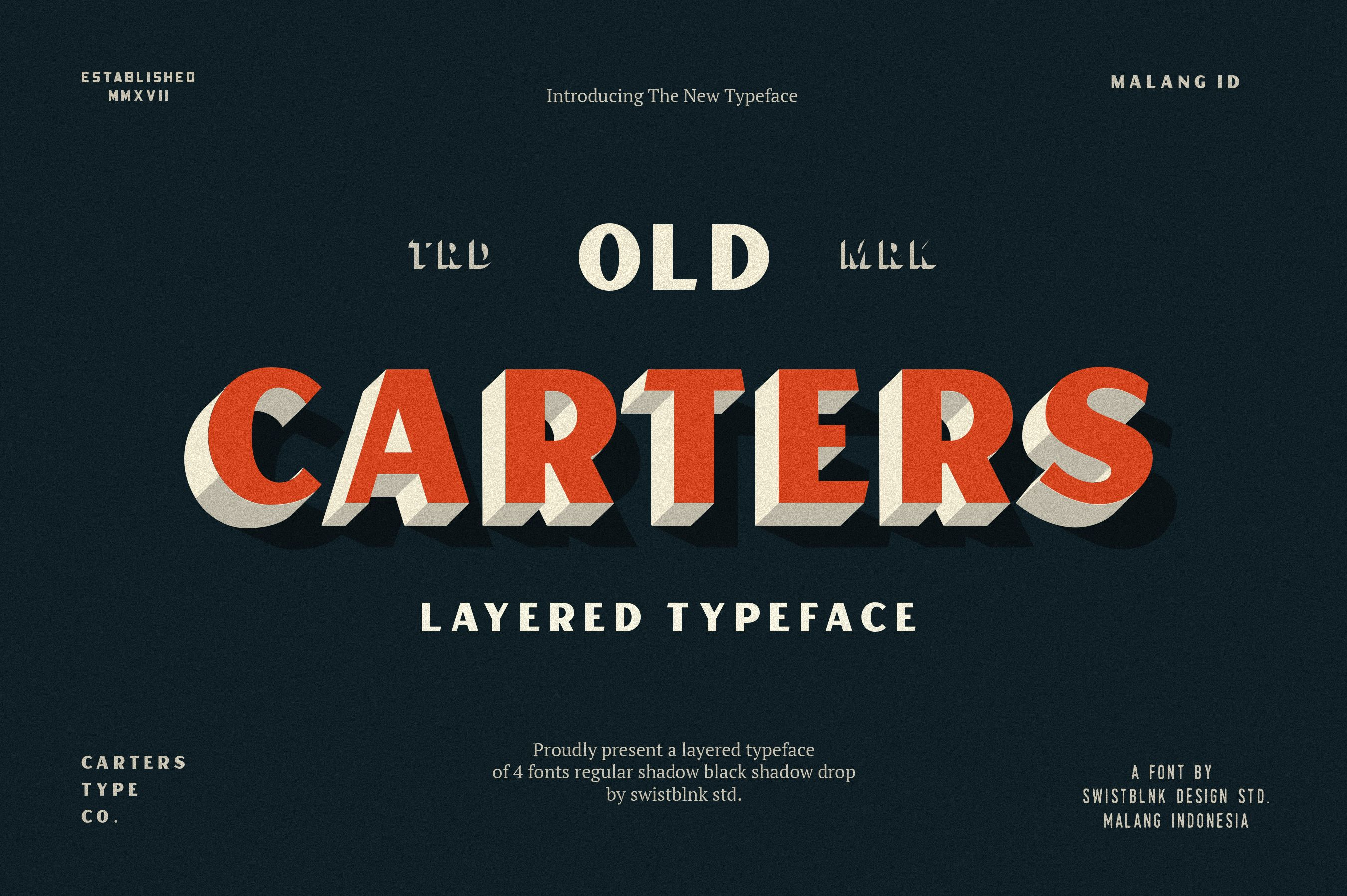 Carters Layered on Behance | Banner design | Fonts, Art deco