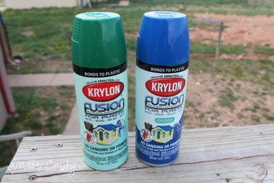 money saving monday how to spray paint plastic patio chairs