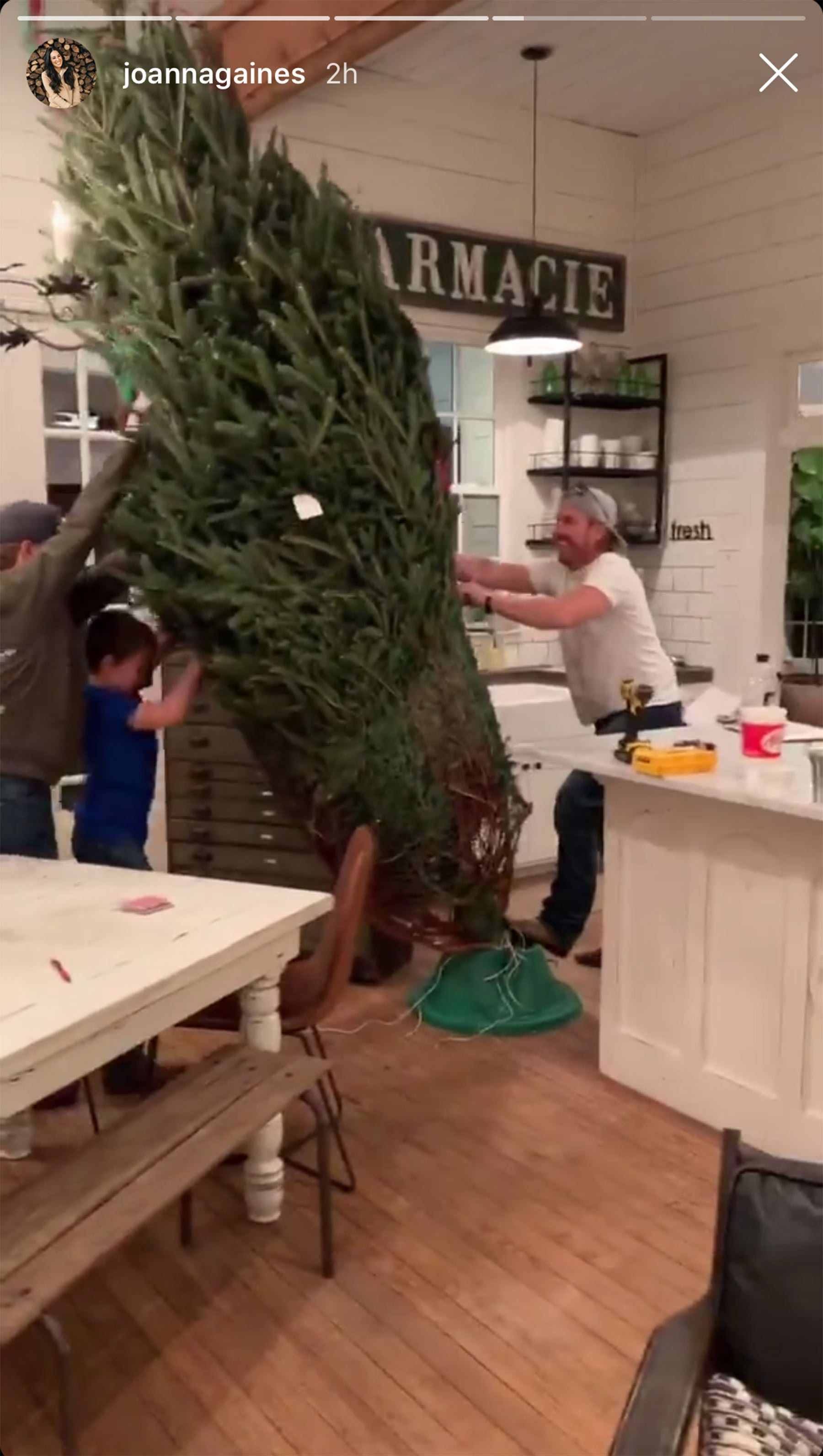 Chip And Joanna Gaines Buy 13 Foot Tall Christmas Tree Peoplecom