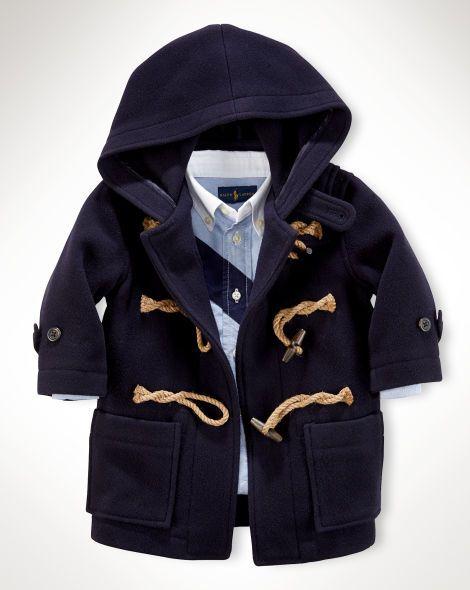 faae5bf8a Wool Toggle Coat - Baby Boy Outerwear   Jackets - RalphLauren.com ...