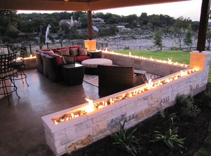Charmant Backyard Fire Pit Design Ideas