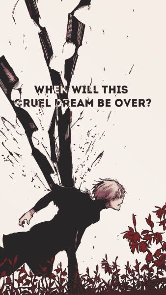 Pin On Quotes Sad anime quotes wallpaper iphone