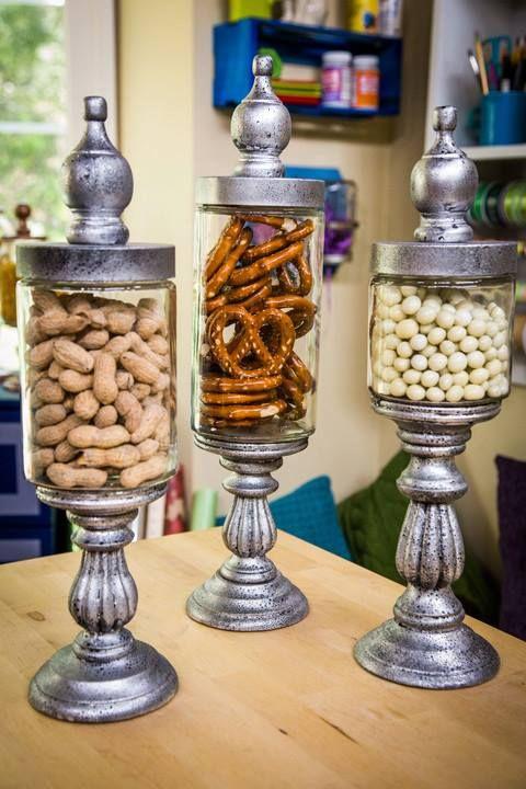 Photo of DIY Candlestick Apothecary Jars