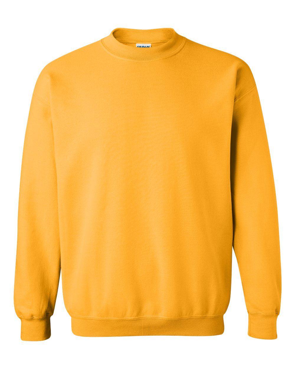 Gildan Heavy Blend Crewneck Sweatshirt 18000 In 2021 Unique Sweatshirt Crew Neck Sweatshirt Sweatshirts [ 1250 x 1000 Pixel ]