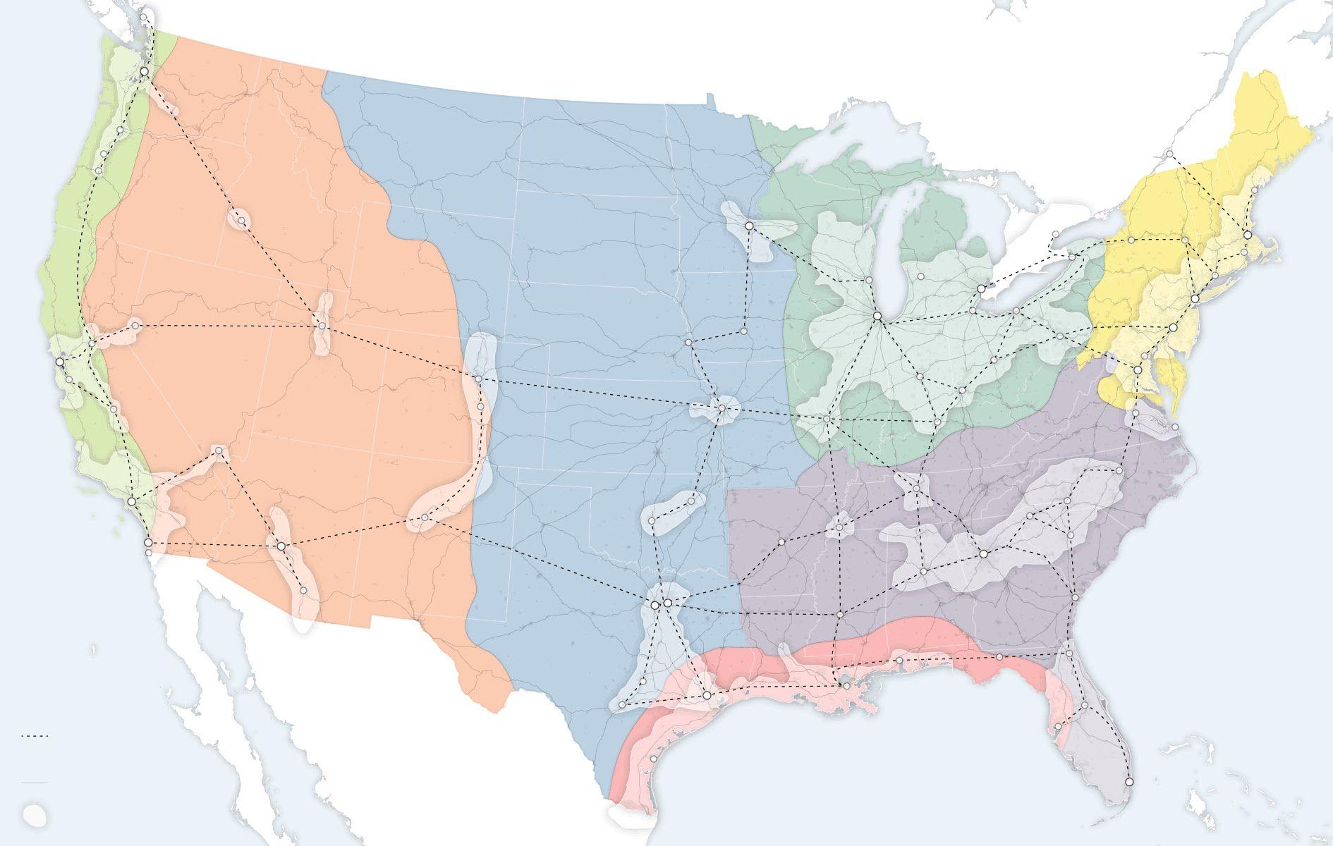 North American Union Map%0A Map  US Cantaloupe Shipments          Data Visualizations  vintage     Pinterest