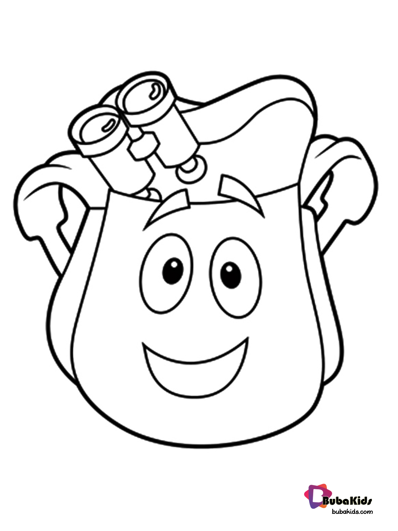 Dora Explorer Backpack Rescue Bag With Map Free Download And Printable Collection Of Cartoon Coloring Pages For Teena Rescue Bags Cartoon Coloring Pages Dora