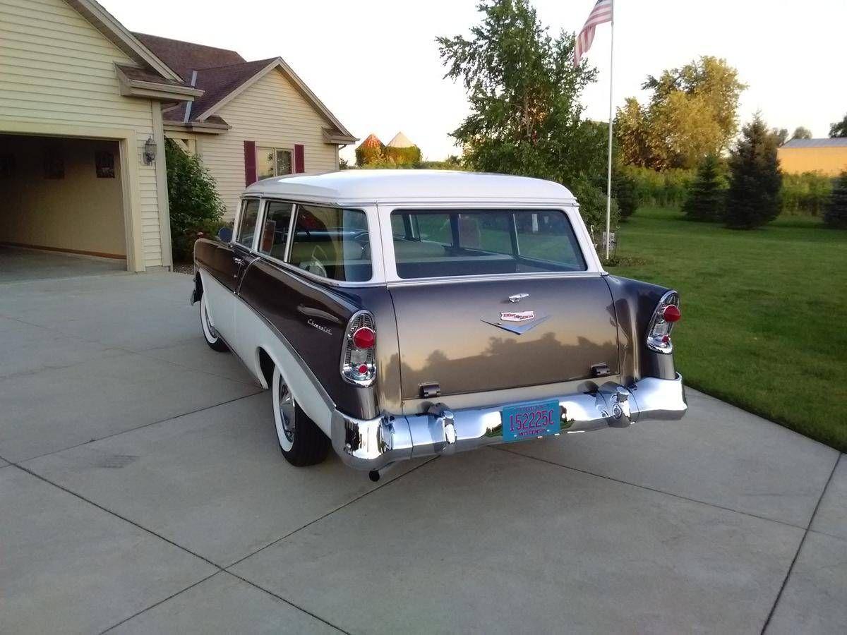1956 Chevrolet 210 2 Door Wagon For Sale 1763742 Hemmings Motor