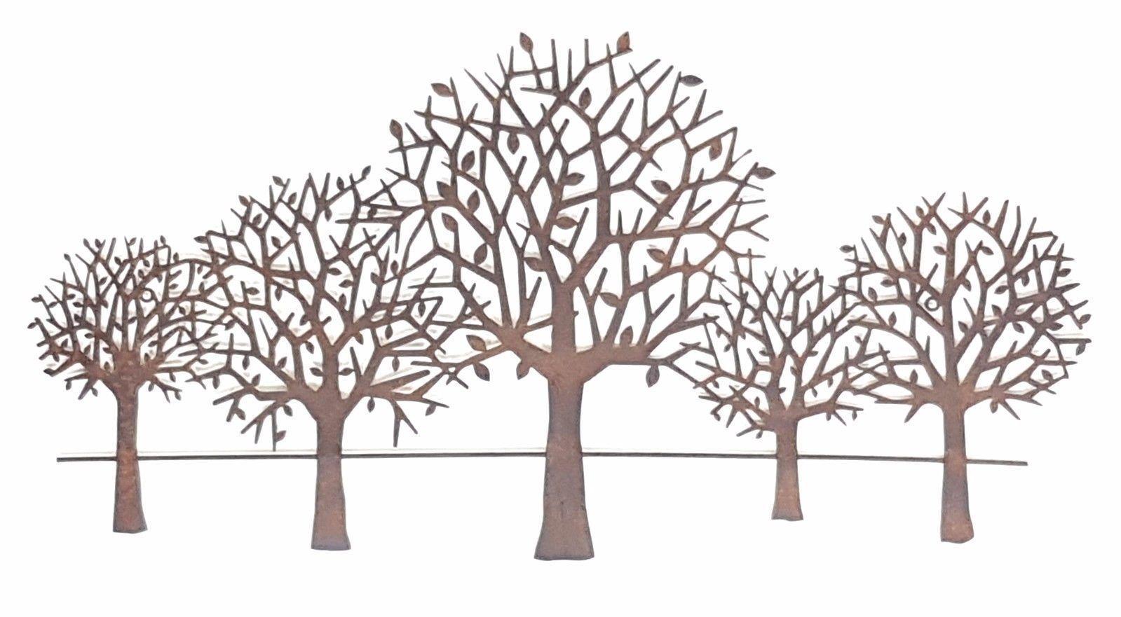 Metal tree wall art metaltreeart metal tree art in