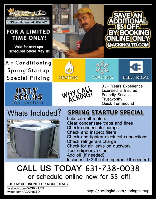 Spring Startup Special At Acking 64 95 Cool Things To Buy Saving Tips Start Up
