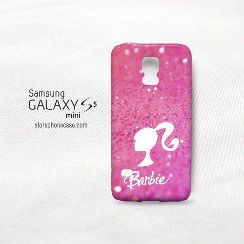 Barbie Pink Glitter Samsung Galaxy S5 Mini Cover Case Samsung Galaxy S5 Galaxy S5 Samsung Galaxy