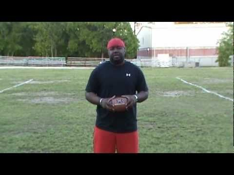 Youth Football Drill - 10-5-10 Drill
