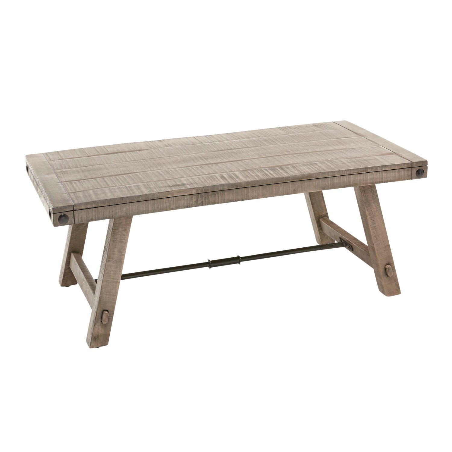 Wren Gray Coffee Table Coffee Table Wood Industrial Style