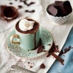 What I would give to have this hot chocolate