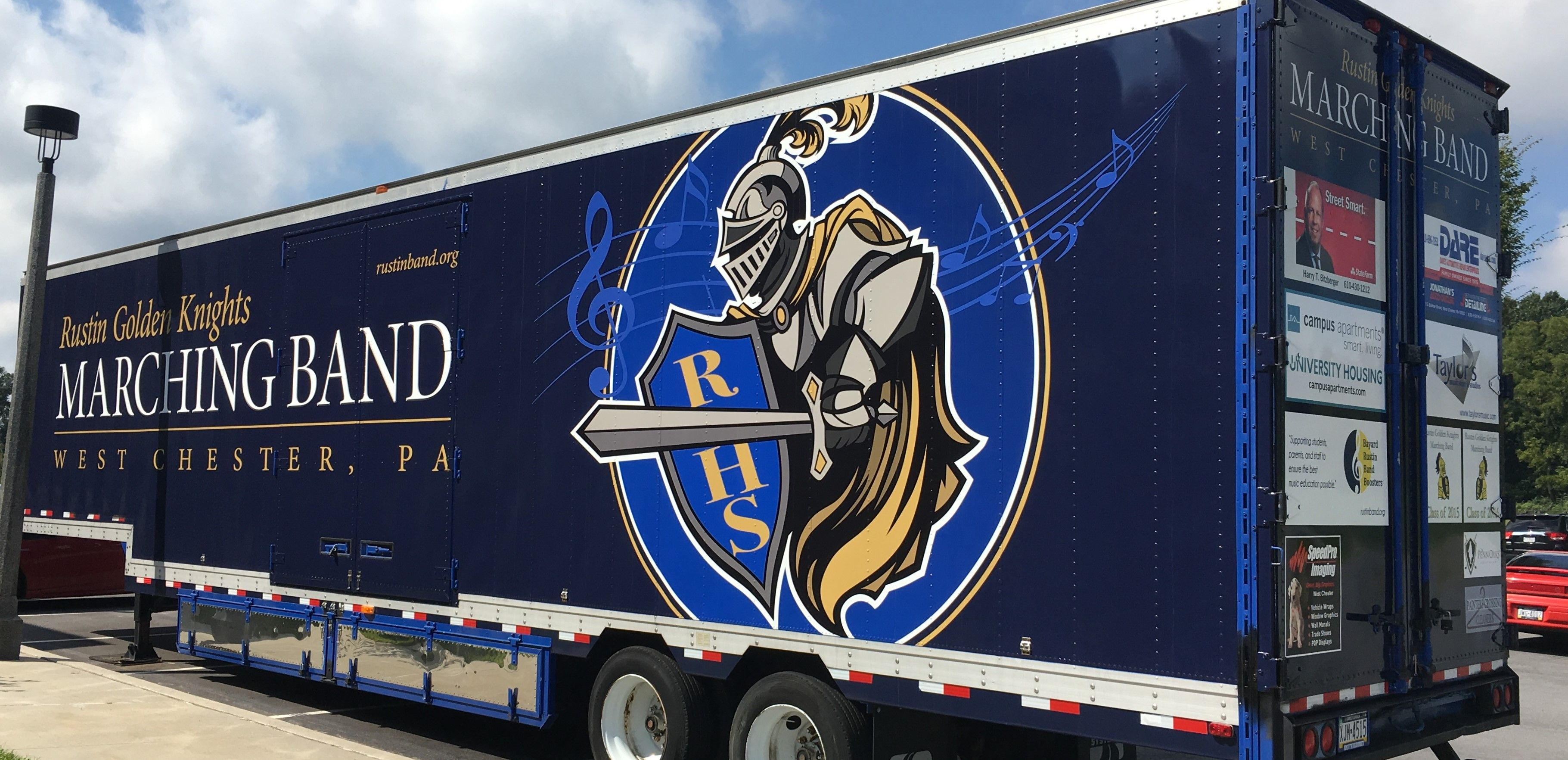 Rustin High School Band Trailer