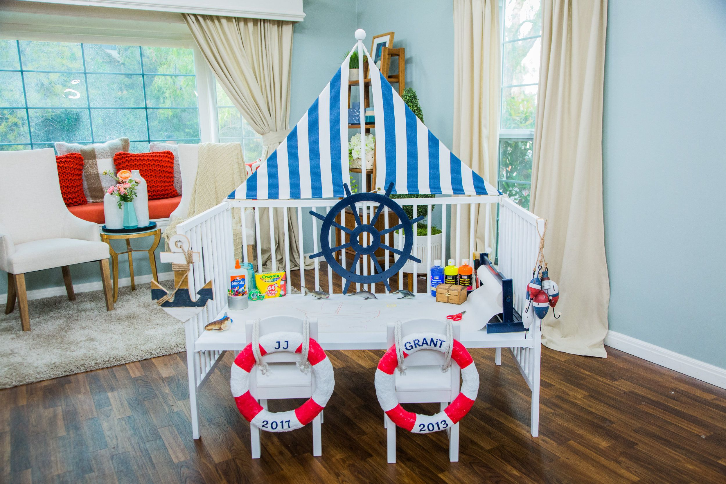 Diy Activity Table Maria Provenzano Is Making A Baby Friendly Diy That Will Be Perfect For Expectin Kids Activity Table Home And Family Crafts Activity Table