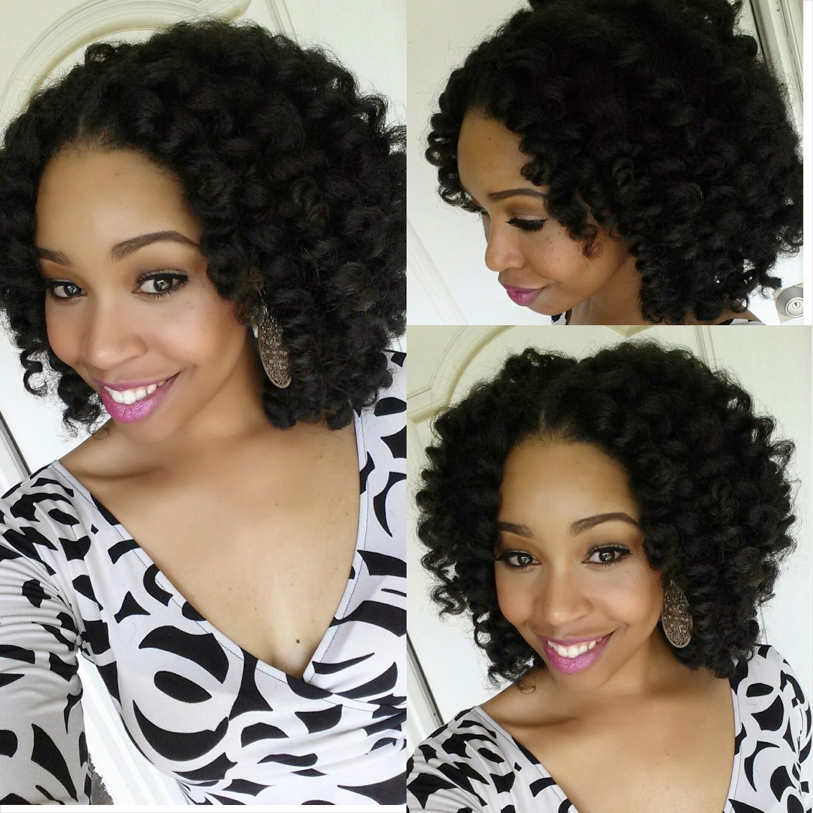 Crochet Braids with Marley Hair Protective Style Tutorial  Curly