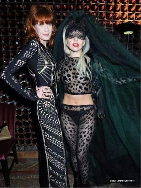 Florence and Gaga