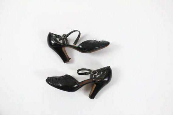 Vintage 1920s Shoes 1930s Dress Shoes / 1930s by 4birdsvintage