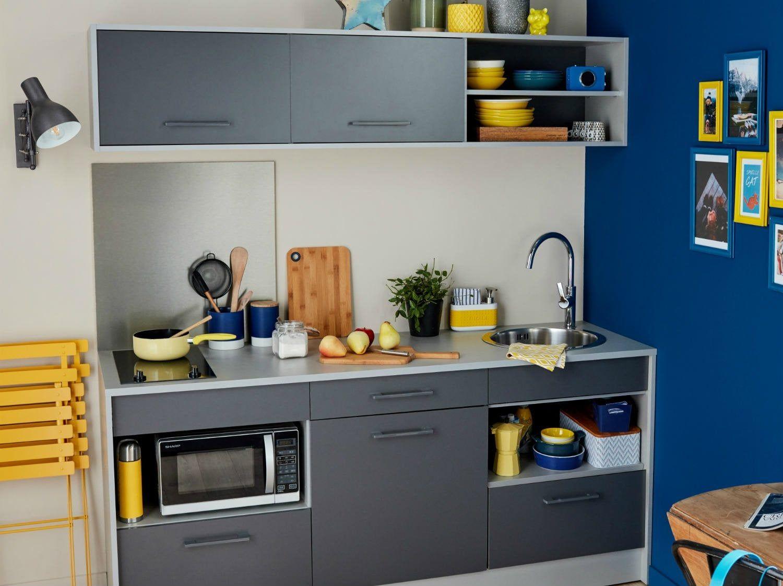 Concevoir Ma Cuisine En 3d Leroy Merlin Cuisine Equipee Cuisine De Petit Appartement Cuisine Contemporaine