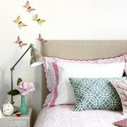 butterflies by the bed