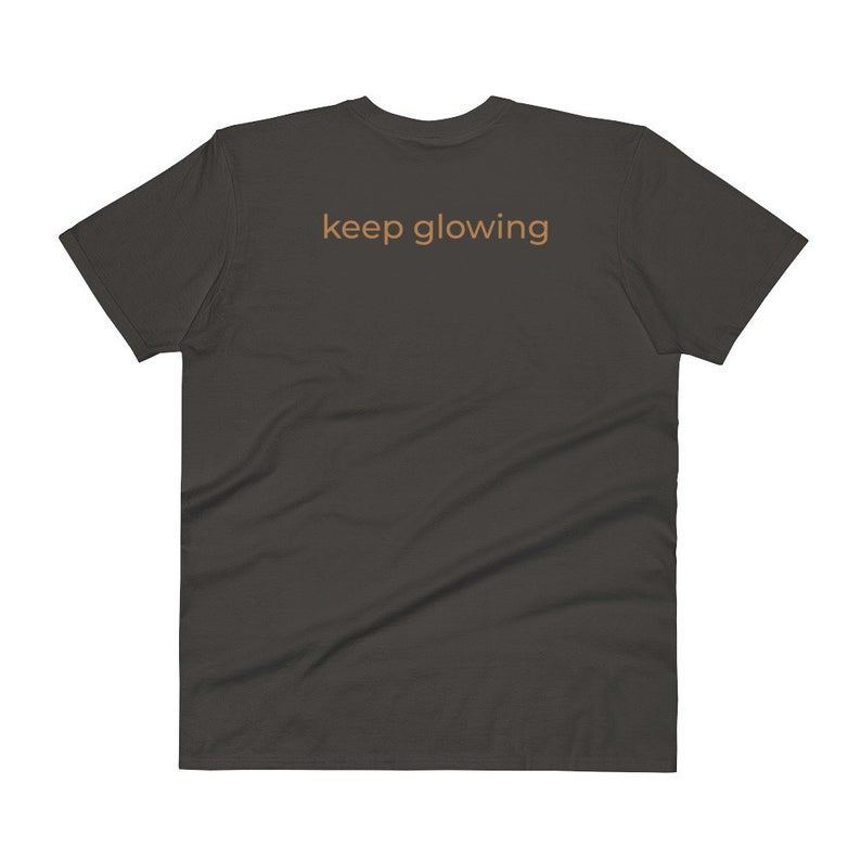 Glowing tshirt for setting good intentions T shirt