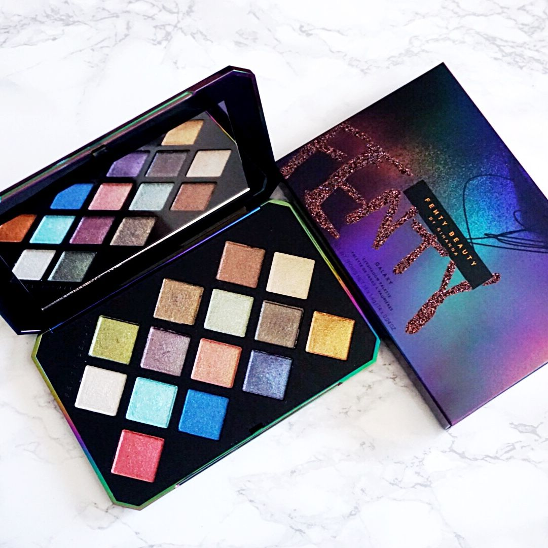 Galaxy Palette by Fenty Beauty. Instagram thehennaali