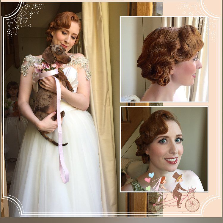 Beautiful Bride Ruth  Hair by me and make-up @thevintagebeautyparlour